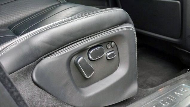 Rear seat control