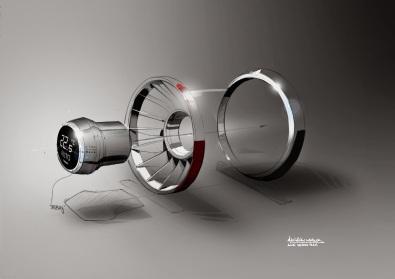 Audi TT Vent component