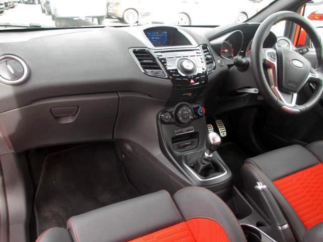 Fiesta ST2 Interior Front