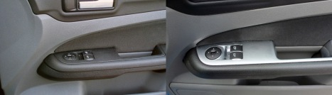 Silver door trim added 2010 onwards*