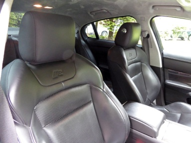 XFR front seats*