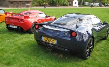 Lotus Exige & Evora rear