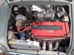 Mini VTEC engine