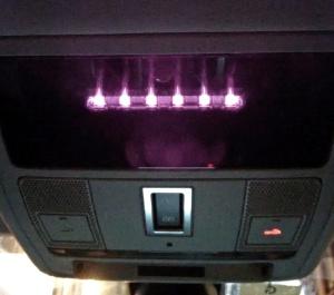 Range Rover Evoque overhead console 2014 infra red