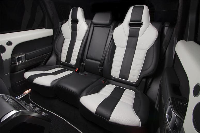 RRS SVR sculpted rear seats*