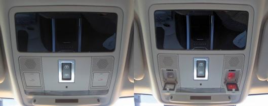Range Rover Evoque overhead console 2014 phone / SOS