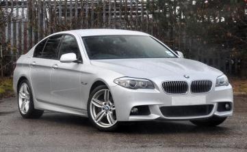 BMW 520i Front 3q