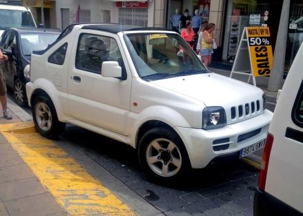 Ibiza Jimny Front