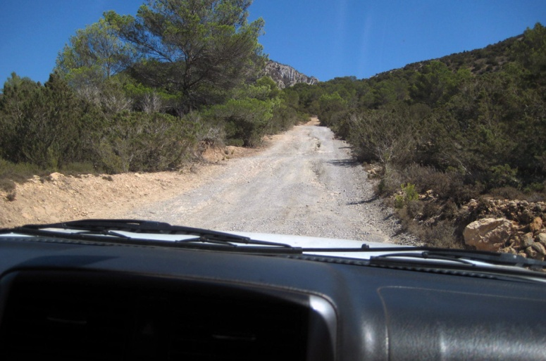 Ibiza Jimny off road