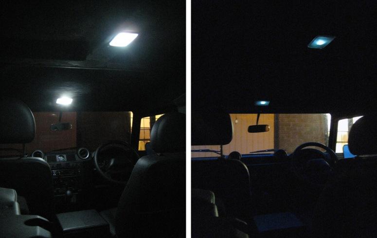 Defender Interior light Before_After