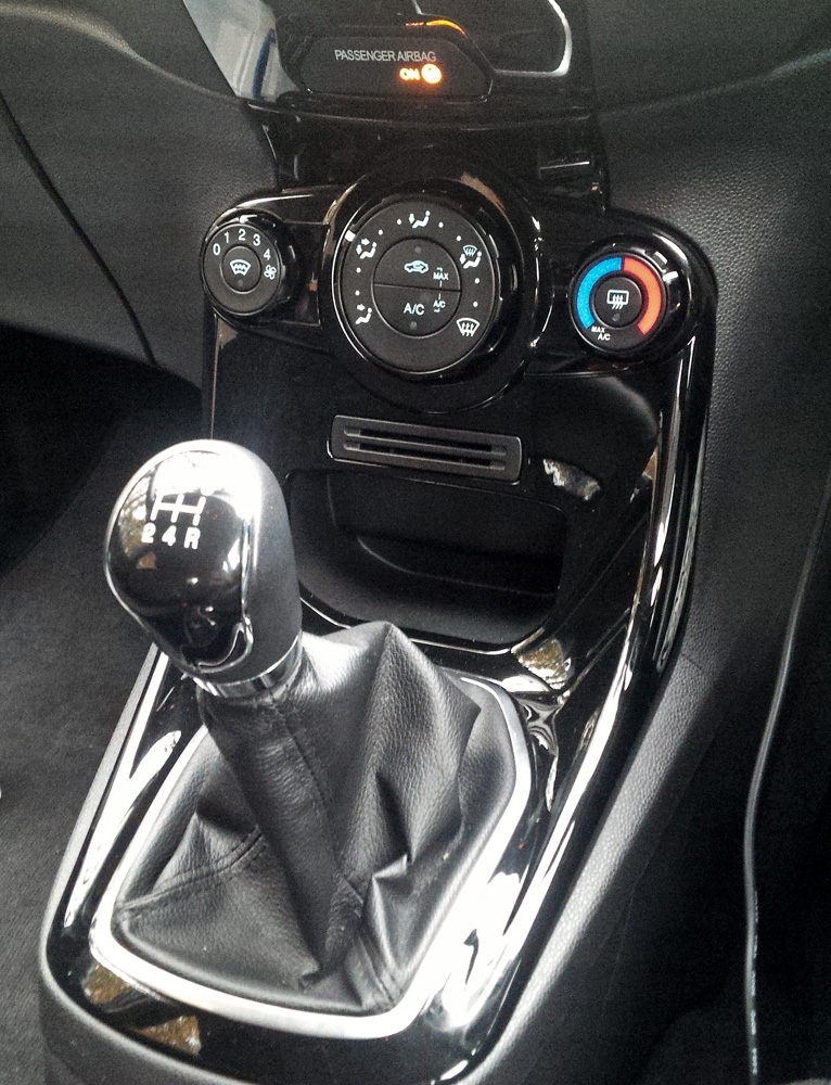 Fiesta Zetec 1.5 Gear