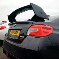 3S Subaru Impreza rear