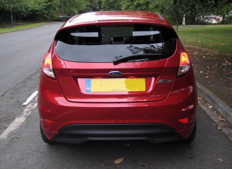 Fiesta ZS 1.0 rear