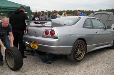 Nissan R33 Skyline GTR rear