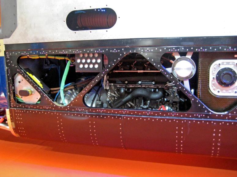 Bloodhound Jaguar engine