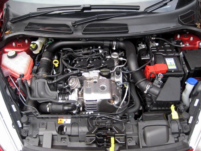 Fiesta 1.0 ZS engine