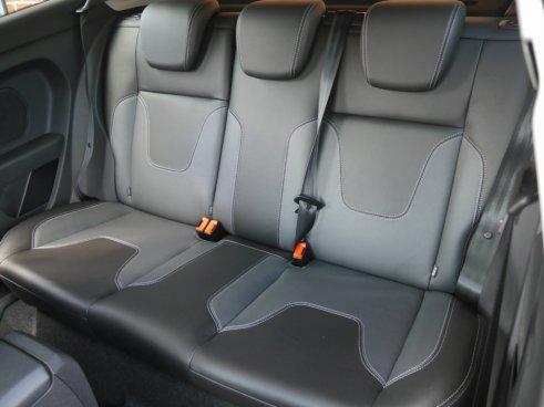 Fiesta ZS 1.0 rear seats