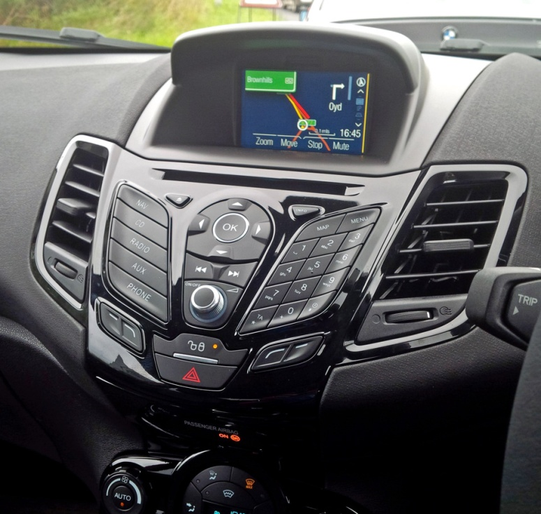 Fiesta 1.0 ZS Stereo Sat Nav