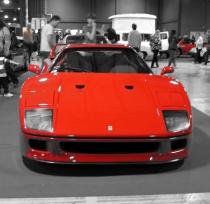 FJ Ferrari F40 front