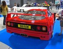 FJ Ferrari F40 rear