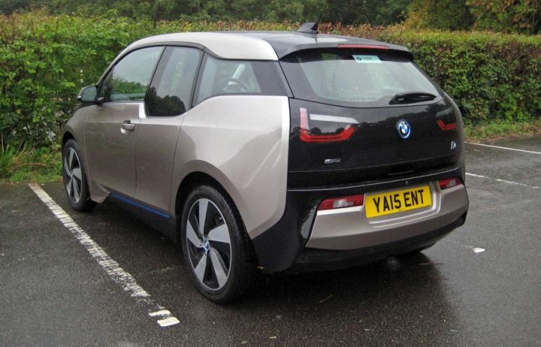 BMW i3 rear 3q