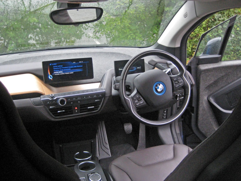BMW i3 Dash rearview