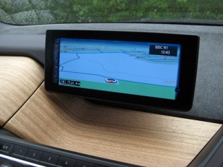BMW i3 Centre screen