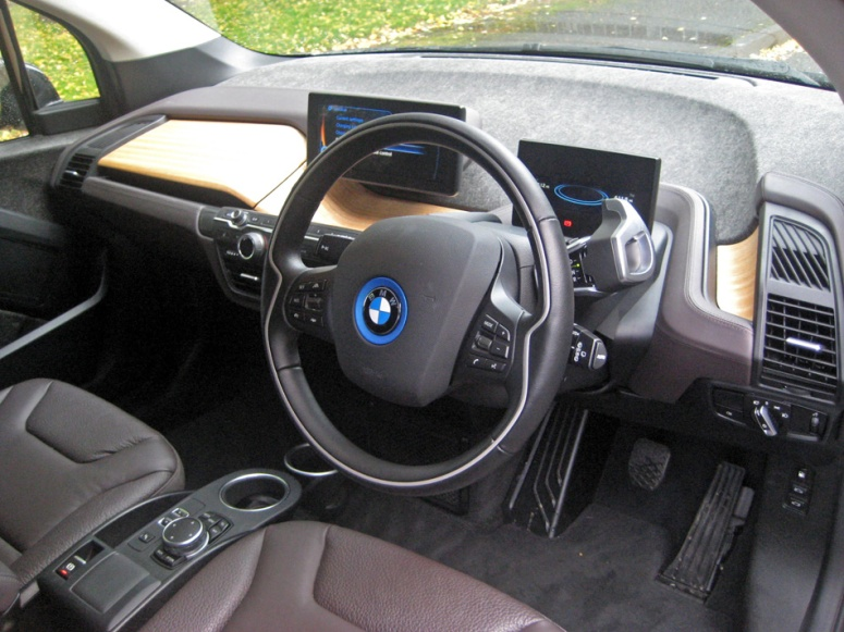 BMW i3 int front driver