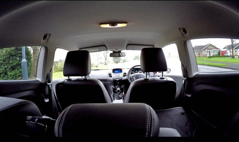 Fiesta 1.0 ZS Interior