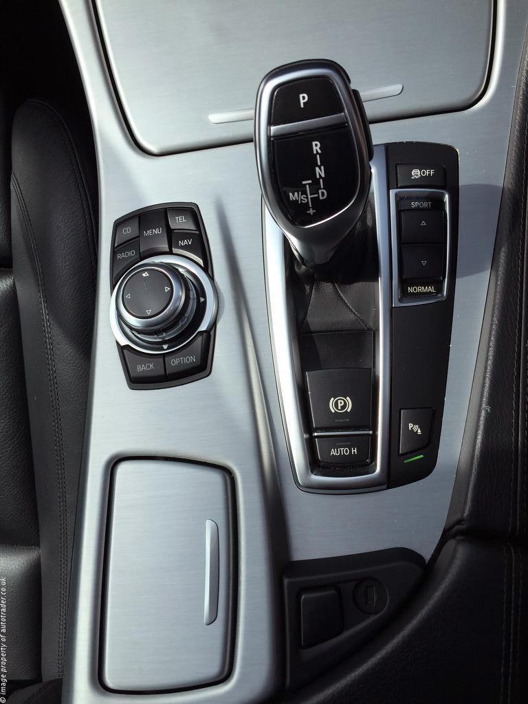 BMW 520i Gear idrive