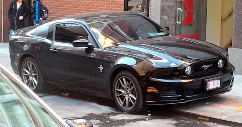 NYC Mustang