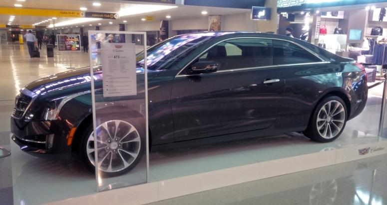 NYC Cadillac ATS Coupe