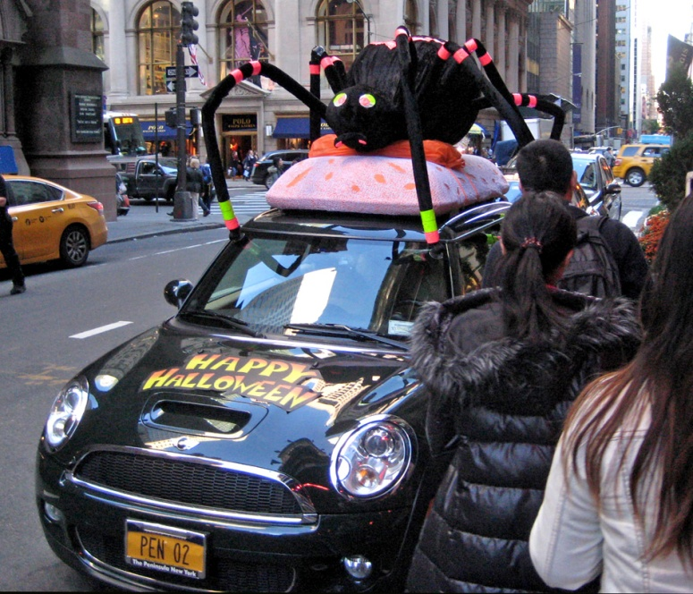 NYC Mini halloween