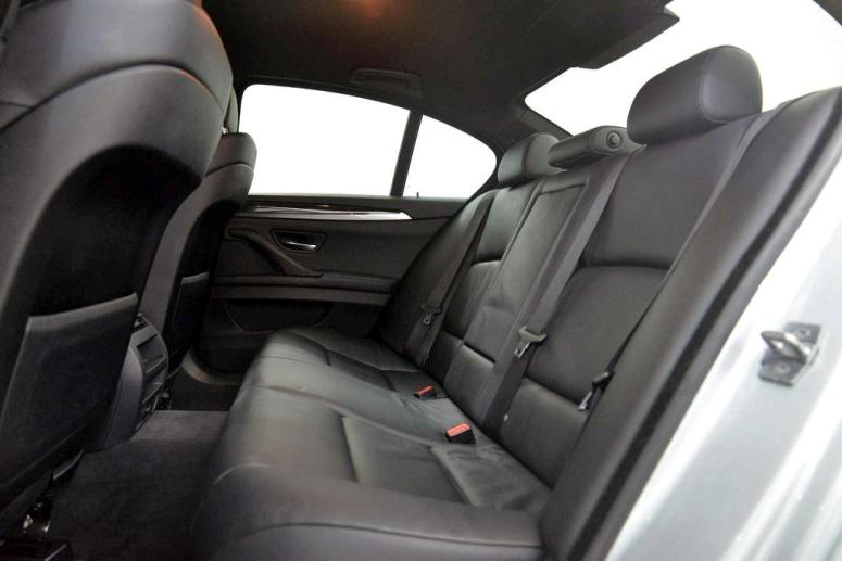 BMW 520i Interior Rear