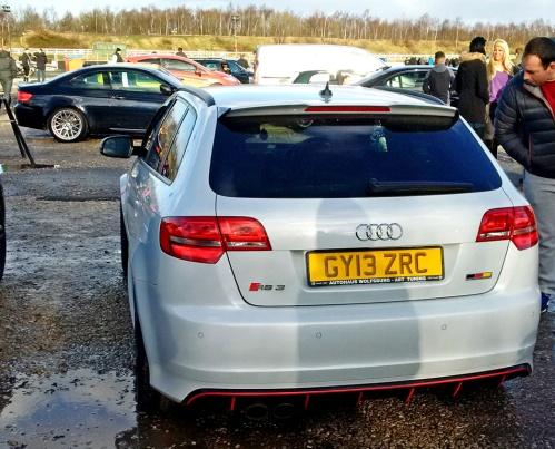 Audi RS3 rear 3S