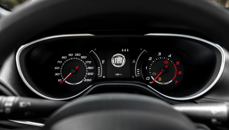 Fiat Tipo dials instrument cluster