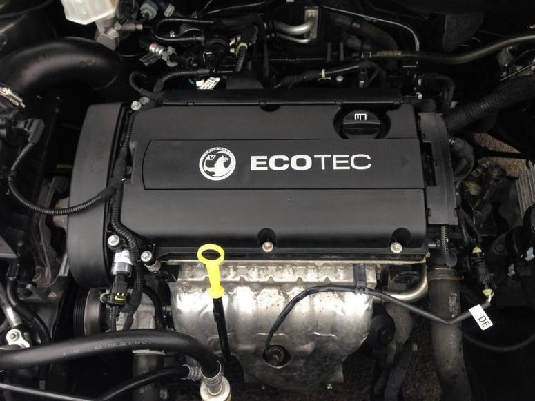 Vauxhall Astra 1.6-litre petrol engine