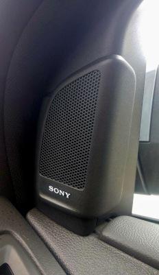 Sony-branded speakers
