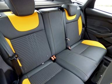 Focus ST-2 rear seats