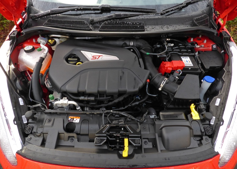 Fiesta ST 1.6-litre engine