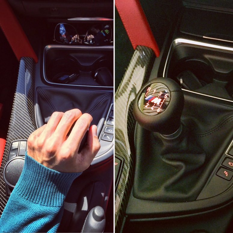 BMW M4 manual gearbox