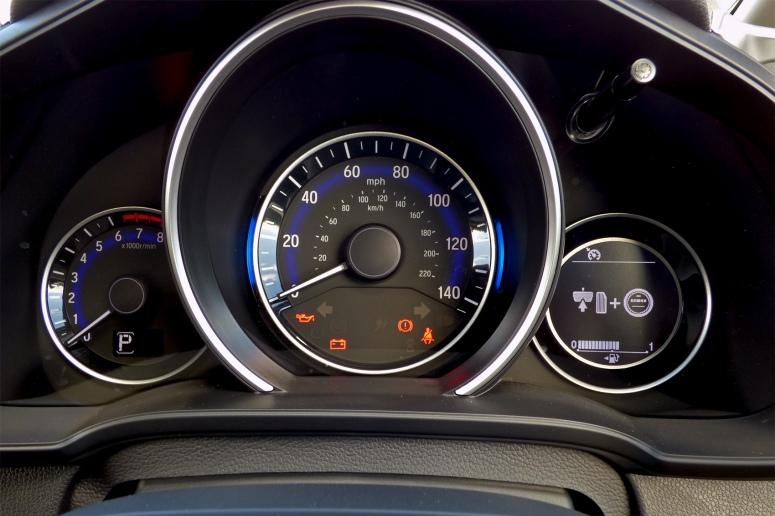Honda Jazz 1.3 CVT dials
