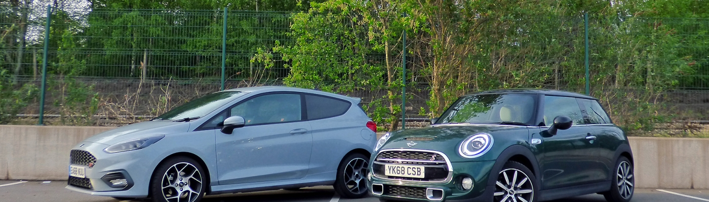 Ford Fiesta ST Vs MINI Cooper S